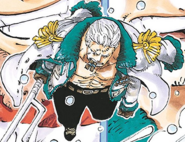 Smoker Post Timeskip Manga Color Scheme