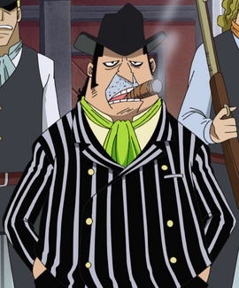 Capone Bege before the timeskip in the anime
