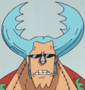 Franky's Insect Jaws Hairstyle
