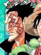Monkey D. Dragon Manga Color Scheme