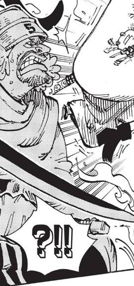 Bakezo in the manga