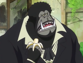 Blackback in the anime