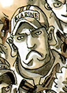 Catacombo as a Young Marine