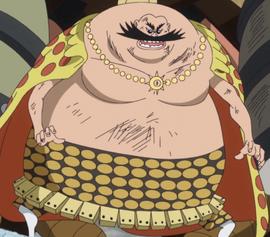 Dagama en el anime