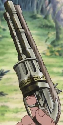 Flintlock Calibre .44 6 Tiros Revólver