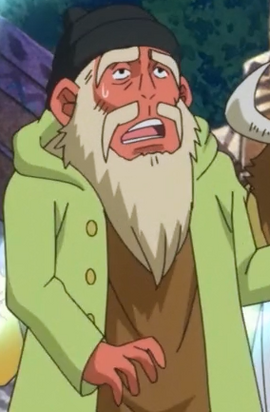 Monjii in the anime