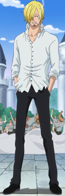 Sanji depois do timeskip no anime