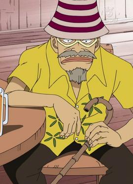 Woop Slap antes del salto temporal en el anime