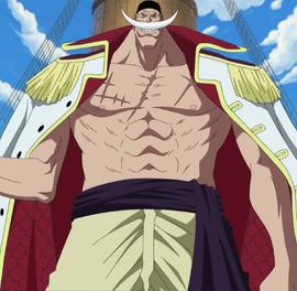 Edward Newgate in the anime