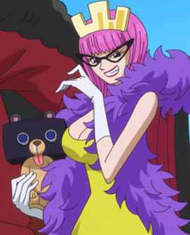 Kinderella after the timeskip in the anime