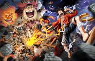 Luffy vs. Big Mom Pirate Warriors 4