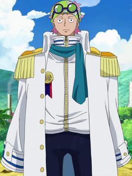 Koby depois do timeskip no anime