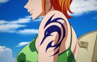 Nami tatuaggio Arlong