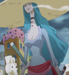 Charlotte Amande in the anime
