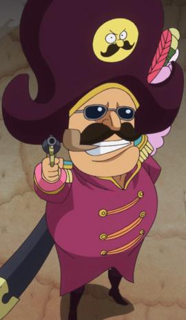 Charlotte Nusstorte in the anime