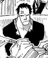 Hewitt in the manga