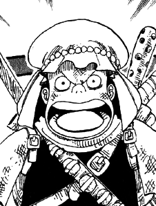 Kappa antes del salto temporal en el manga
