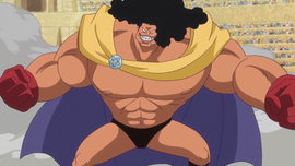 Rolling Logan in the anime