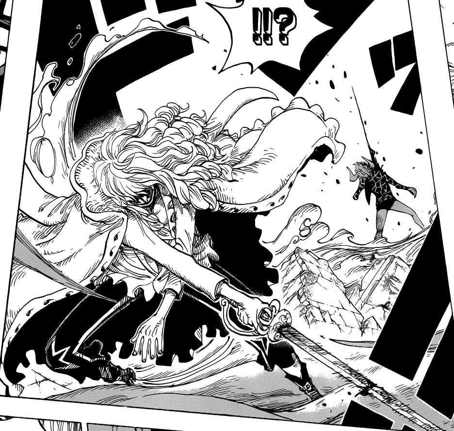 Cavendish (como Hakuba) vs. Dellinger