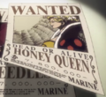 Honey Queen's Movie 9 Wanted Poster