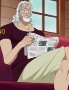 Rayleigh's Return to Sabaody Arc Outfit