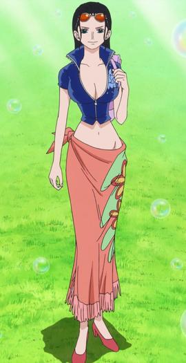 Nico Robin depois do timeskip no anime