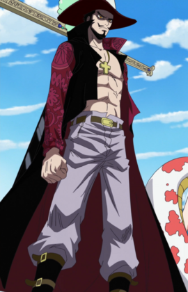 Dracule Mihawk in the anime