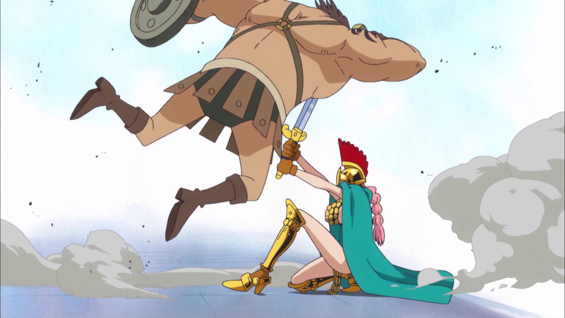 Danza della spada a picco sull'acqua