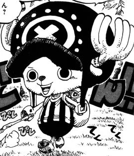 Tony Tony Chopper tras el salto temporal en el manga