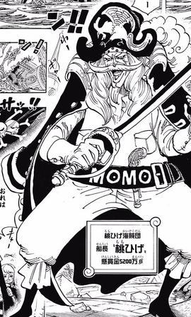 Barbarrosa en el manga