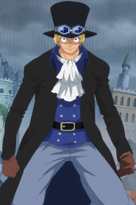 Sabo in the anime