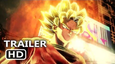 JUMP FORCE Official Trailer (2019) Dragon Ball Z VS Naruto VS One Piece Game HD
