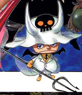 Saldeath before the timeskip in the manga