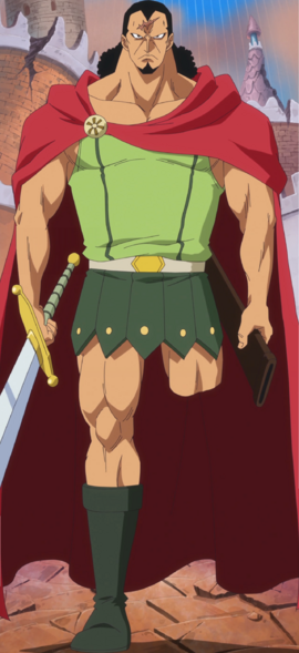 Kyros in the anime