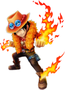 Ace Will of Fire Thousand Storm