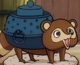 Bunbuku in the anime
