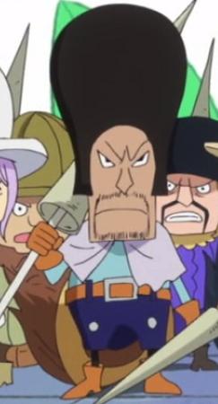 Pellini in the anime