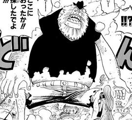 Jaguar D. Saul in the manga