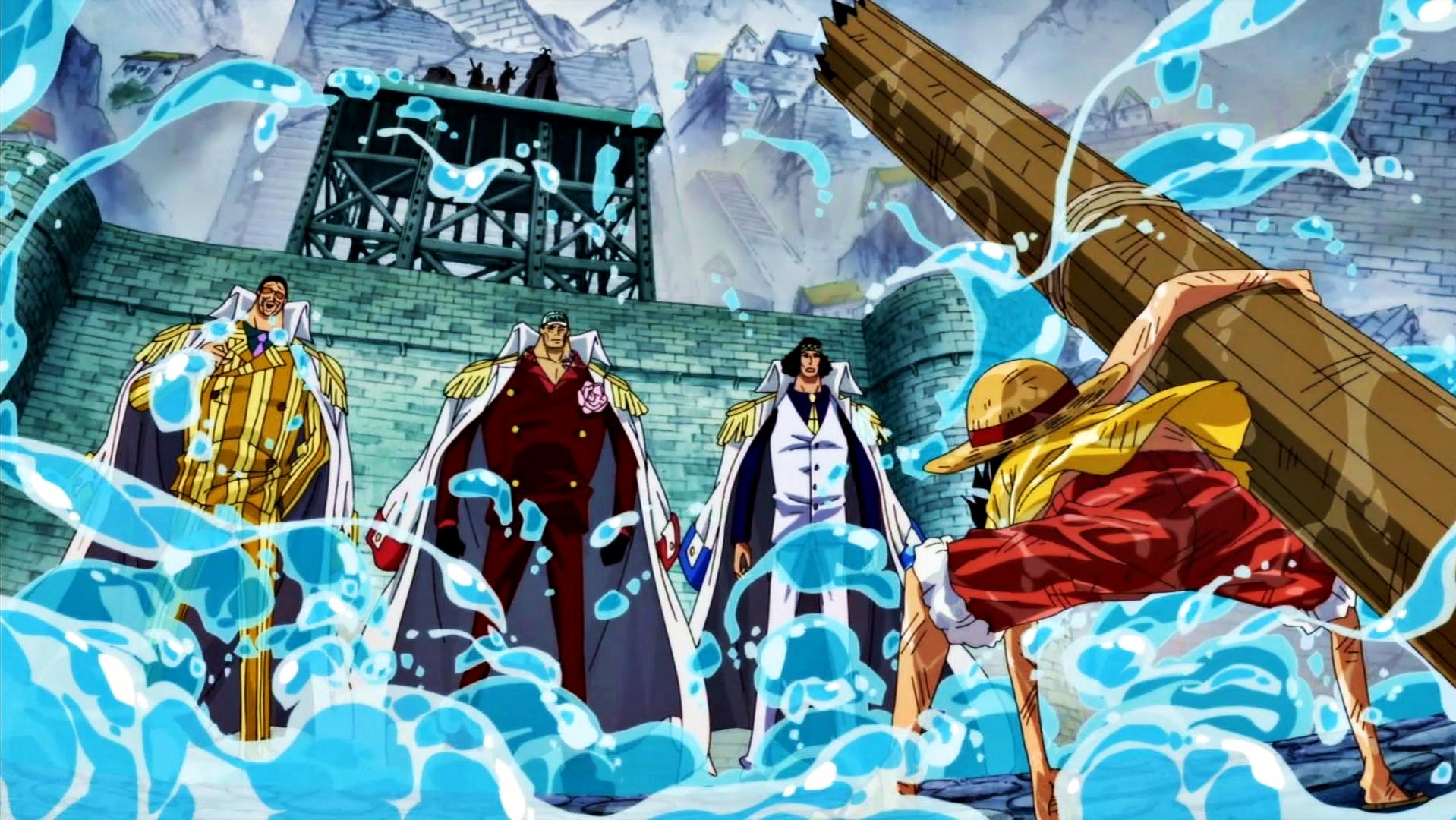 Luffy vs los 3 Almirantes.png