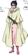 Tashigi's Outfit in the Punk Hazard Arc