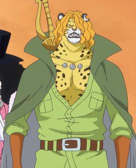 Pedro in the anime