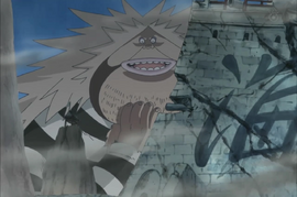 Sanjuan Wolf in the anime