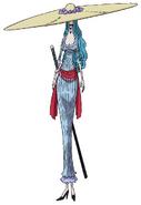 Charlotte Amande Anime Concept Art