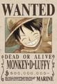 Monkey D. Luffy Avis de Recherche Post Dressrosa.png