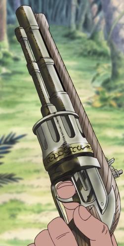 Flintlock .44 Caliber 6 Shot Revolver