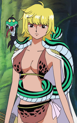 Marguerite in the anime