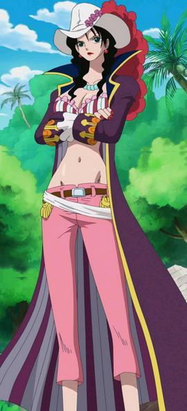 Alvida en el anime
