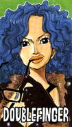 Miss Doublefinger Manga Color Scheme