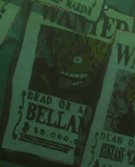 Bellamy's Wanted Poster