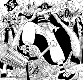 Buggy in the manga